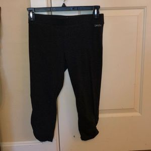 Calvin Klein performance charcoal crop legging M